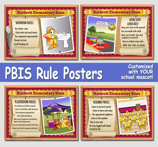 School Rules Posters